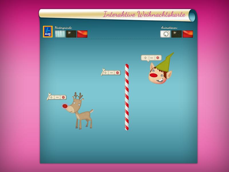 Weihnachtskarten Aldi Süd.Annemation Design Studio Illustration Grafikdesign Webproduktion